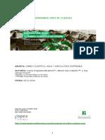 Cambio climático, Agua y Agricultura sostenible