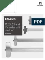 Falcon 19-24-25 and XX Service Manual 108004
