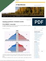 Pirámides 1 de Población. Actividades Resueltas _ Geografía de España. 2º Bachille