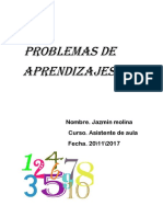 Problemas de Aprendizajes