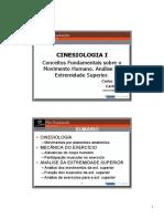 PG TF Cinesiologia I Extremidade Superior