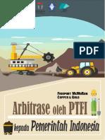 Kajian Arbitrase Oleh PTFI Kepada Pemerintah Indonesia