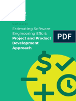 Estimating Software Engineering Effort