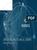 Barrick 2017 Operations and Technical Update 2