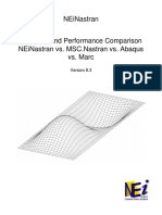 19 COMNE MSC Abaqus Marc PerformanceComparison