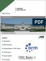 Drm Transmitter Presentation
