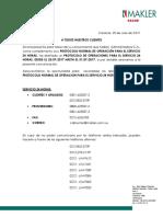 Protocolo de Operaciones Makler Administradora Julio 2017 Clientes