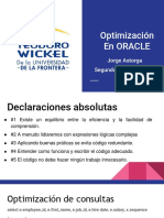 6. Optimizacion en ORACLE (1)