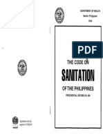 Code on Sanitation Phils