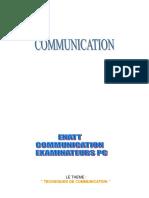 Communication Examinateurs Pc Groupe