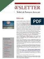 Newsletter T&P N°39