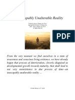 An Inescapably Unalterable Reality by M.T. Cox-Flynn