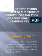 Voting System for Students