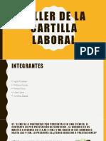 Taller de La Cartilla Laboral