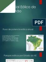 Potencial Eólico Do Maranhão