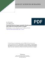 CULIOLI & DESCLES-Artigo-1982-Traitement Formel Des Langues Naturelles 1a Part