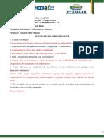 Atividade 01 - Gabarito