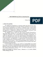 CORREIA CapLivro Determinacao e Cognicao