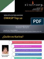 Web Application Hacking (OWASP Top 10)