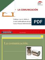 9 La Comunicacion Organizacional