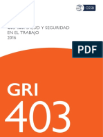 Spanish GRI 403 Occupational Health and Safety 2016