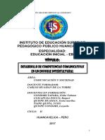 Desarrollo de Competencias Comunicativas en Un Enfoque Intercultural Monografias Modelo Pedagogico