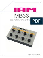 Manual MAM MB33 Engl