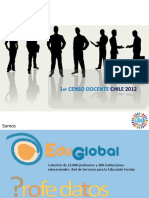 Censo Docentes Chile 2012