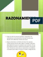RAZONAMIENTO-DIAPOSITIVA