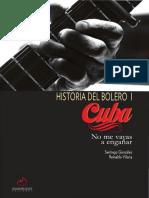 González, Santiago - Historia del Bolero I (250p)