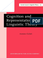 CULIOLI-Livro-Cognition and Representation in Linguistic Theory