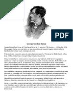 Byron Biografie