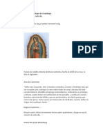 Rosario Virgen de Guadalupe
