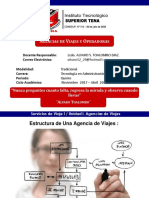 Agencias de Viajes Estructuras de Agencias de Viaje Clase 2