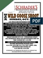 Wild Goose Flyer Registration