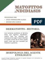Dermatofitos y Candidiasis