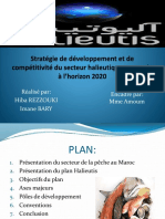 Stratégie de Développement Et de Compétitivité Du Secteur