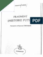 Trousson, Présentation a Gabriel Tarde, Fragment d'Histoire Future