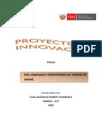 Proyecto de Innovación Carla