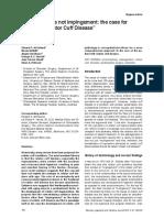 McFarland Et Al 2013 Impingement and RCD
