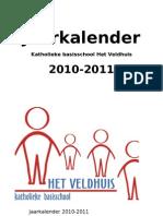 Jaarkalender 2010-2011