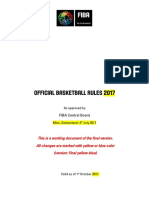2017OfficialBasketballRules Final(YellowBlueversion)