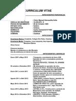 Curriculum Victor Hermosilla