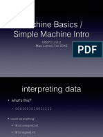 02 - Machine Basics