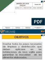 COR-CAL-PT-069 Cap. Limpieza de Lava Vajillas 160116