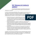 Diferencias de La ISO