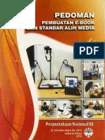 Pedoman Pembuatan eBook dan Standar Alih Media