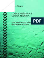 eBook en PDF LOGICA PRACTICA Y LOGICA TEORICA Una Introduccion a Las Ideas de Stephen Toulmin