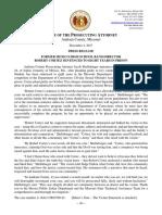Cortez Sentencing PR and Statement