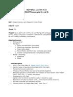 edu 519 lesson plan 2